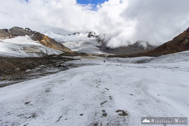 parvati glacier, self supported, solo, backpaking, low budget