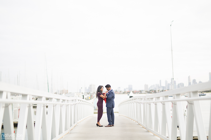 Shihanie & Jackson engagment in Melbourne