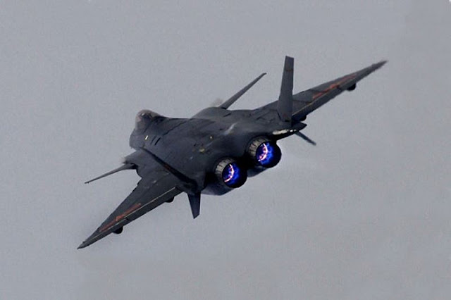 China J20 stealth fighter engines