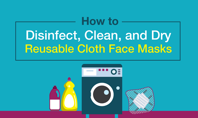 A guide to cleaning your face mask