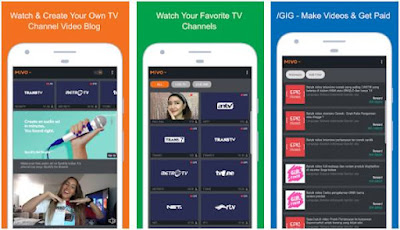 Aplikasi TV Online Android - 1