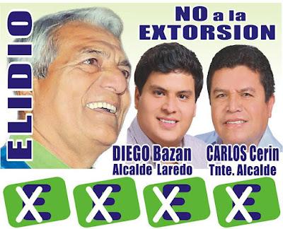 Diego Bazán fue candidato a la alcaldía de Laredo.
