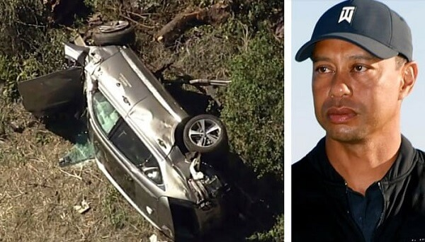 Tiger Woods Car Crashes Due to High Speed, Report Says
