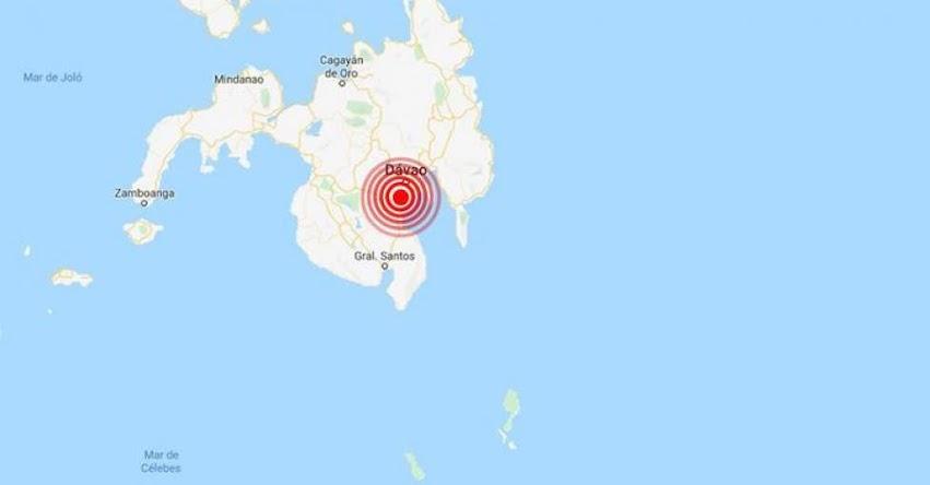 Terremoto en Filipinas de Magnitud 6.5 - Alerta de Tsunami (Hoy Miércoles 30 Octubre 2019) Sismo - Temblor - Epicentro - Bulatukan - Isla de Mindanao - USGS - www.earthquake.usgs.gov