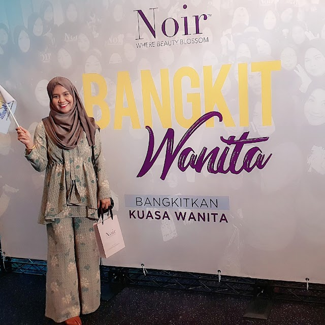 Bangkit Wanita Webinar with Noir Health Beauty.