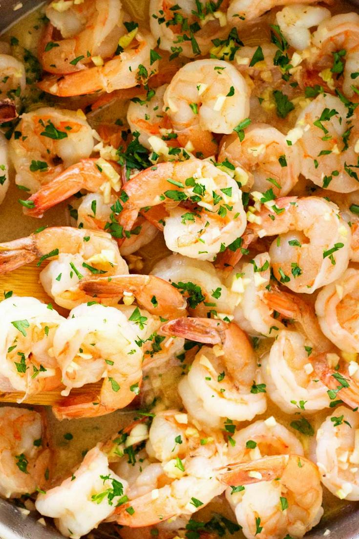 The Best Garlic Butter Shrimp