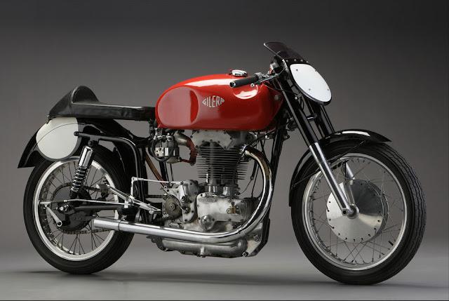 Gilera Saturno 1950s Italian classic motorcycle