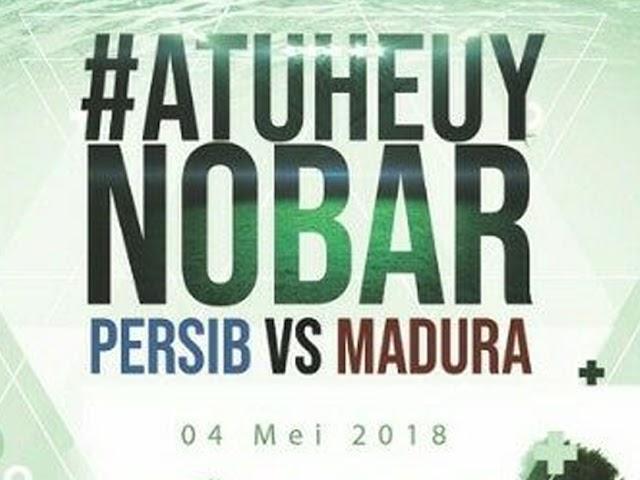 KPU Kota Bandung Gelar Nobar Persib VS Madura United
