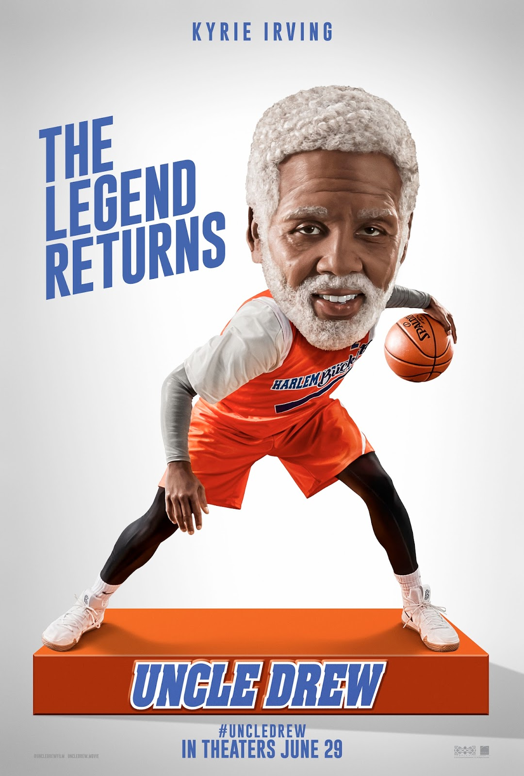 ... up Drew's old basketball squad (Shaquille O'Neal, Chris Webber, Reggie  Miller, Nate Robinson, and Lisa Leslie) and prove that a group of  septuagenarians ...