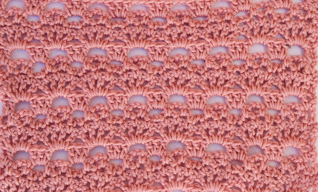 1 -Crochet Imagenes Puntada de abanicos y cadenas a crochet y ganchillo por Majovel Crochet