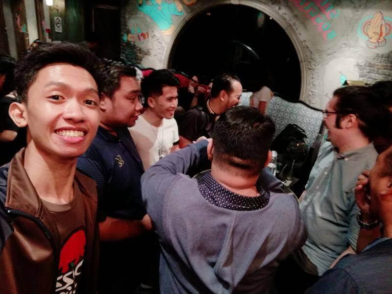 Huawei Nova 2i Front Camera Sample - Group Selfie (Indoor)