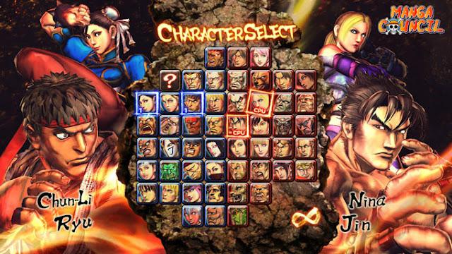 Street Fighter X Tekken Save Game b