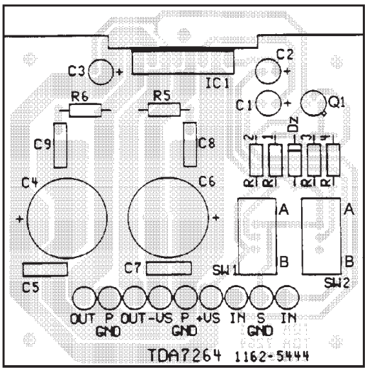 Wiring Amp Diagram Info 25 25w Stereo Amplifier With Mute St By