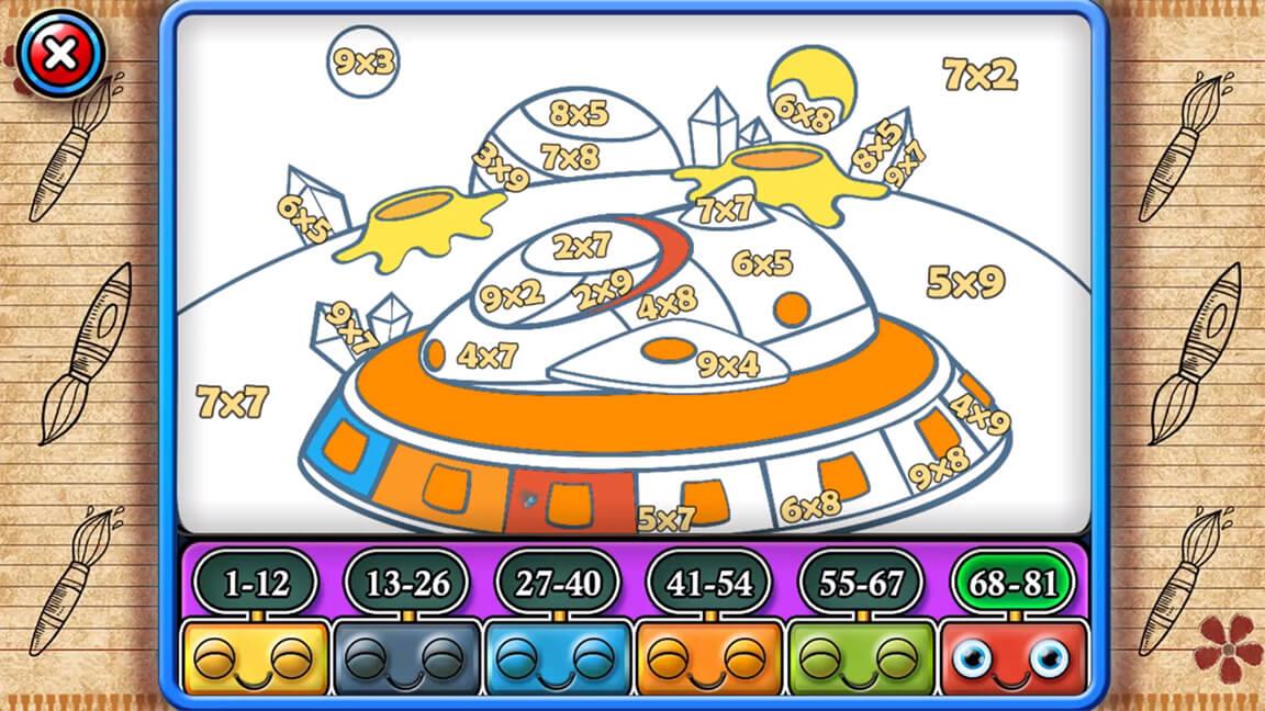 تحميل لعبة الاطفال Star Arithmetic