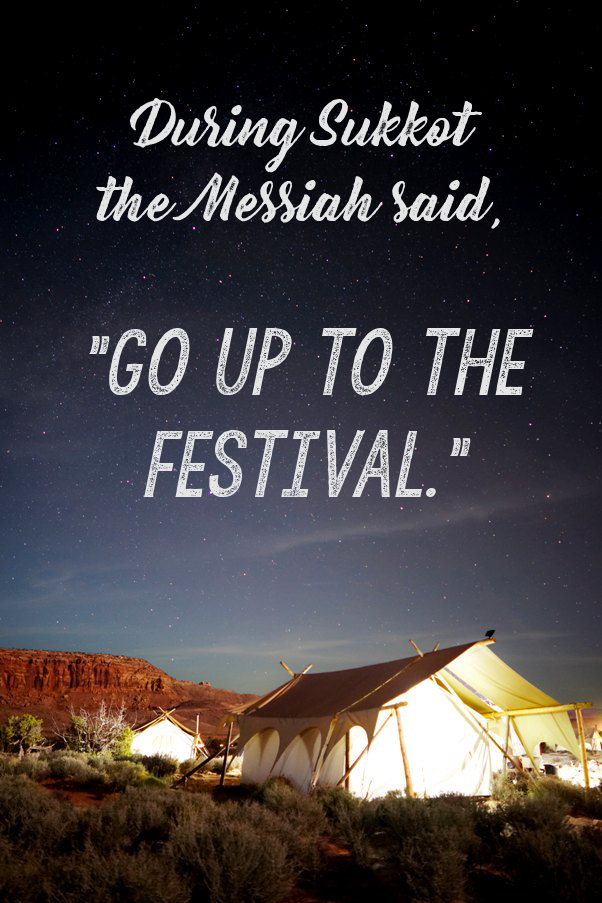 The Messiah encouraged others to keep the Feast of Sukkot - John 7:8 | Land of Honey