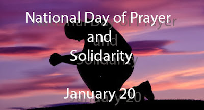 National Day of Prayer set on January 20