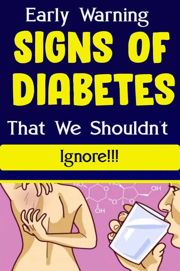 Early Warning Signs of Diabetes That We Shouldn't Ignore!!!
