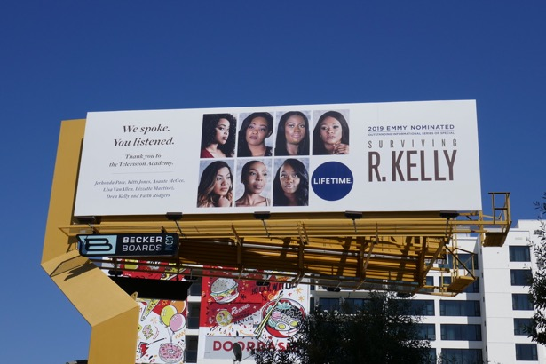 Surviving R Kelly Emmy nominee billboard