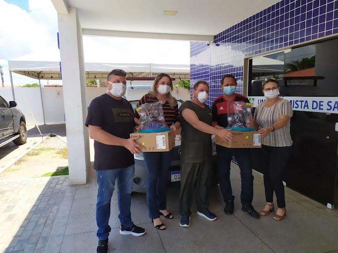 Vereadores de Tibau doam salários para a compra de dois capacetes elmo usado no tratamento da Covid-19