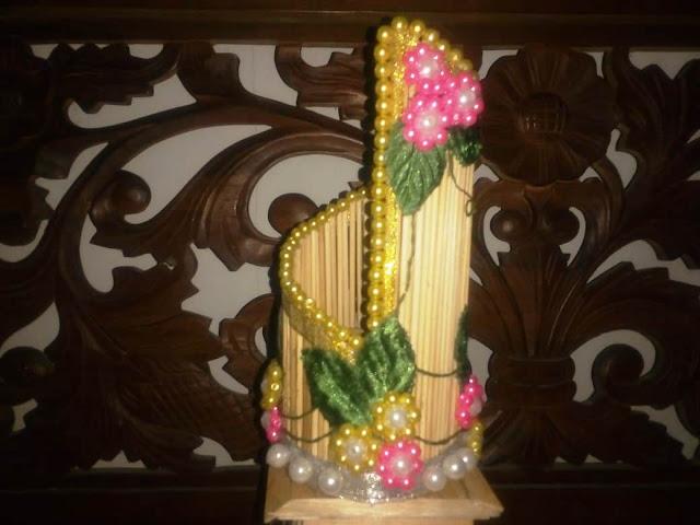 Vas Bunga Bahan Tusuk Sate [Kode : A07]