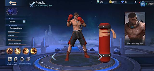Paquito (New Hero)