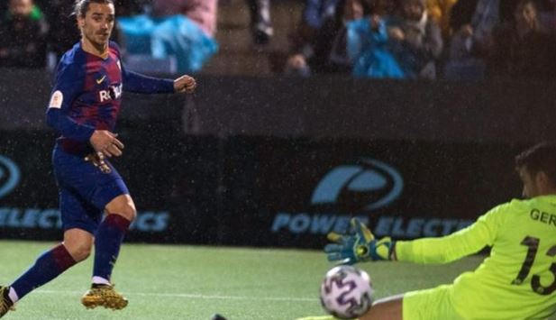 Griezmann on target as Barcelona beat third-tier UD Ibiza