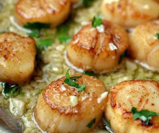 Garlic Butter Seared Scallops Are Good