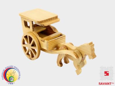 Decorative Wooden Kalesa Handicraft Philippines