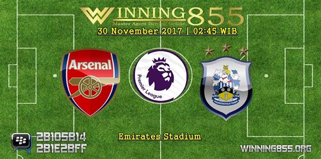 Prediksi Akurat Arsenal vs Huddersfield 30 November 2017