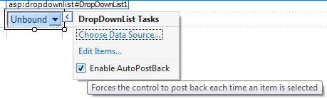 DropDownList Control