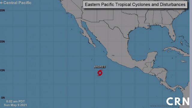 temporada de huracanes en Pacífico mexicano