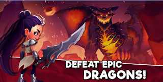 Download Taps & Dragons Idle Heroes V1.1.28f MOD Apk ( Unlimited Coins / Diamonds )