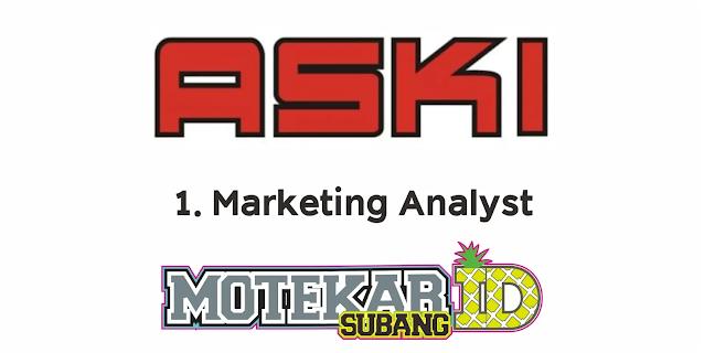 Lowongan Kerja PT Astra Komponen Indonesia (ASKI) Februari 2021 - Motekar Subang