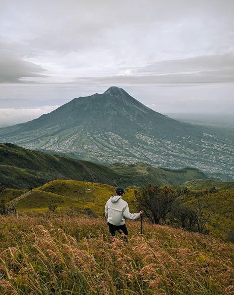 Wisata alam Gunung Merbabu Semarang