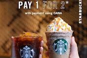 Promo Starbucks Beli 1 Gratis 1 Setiap Rabu Dengan DANA Selama Bulan Maret 2020