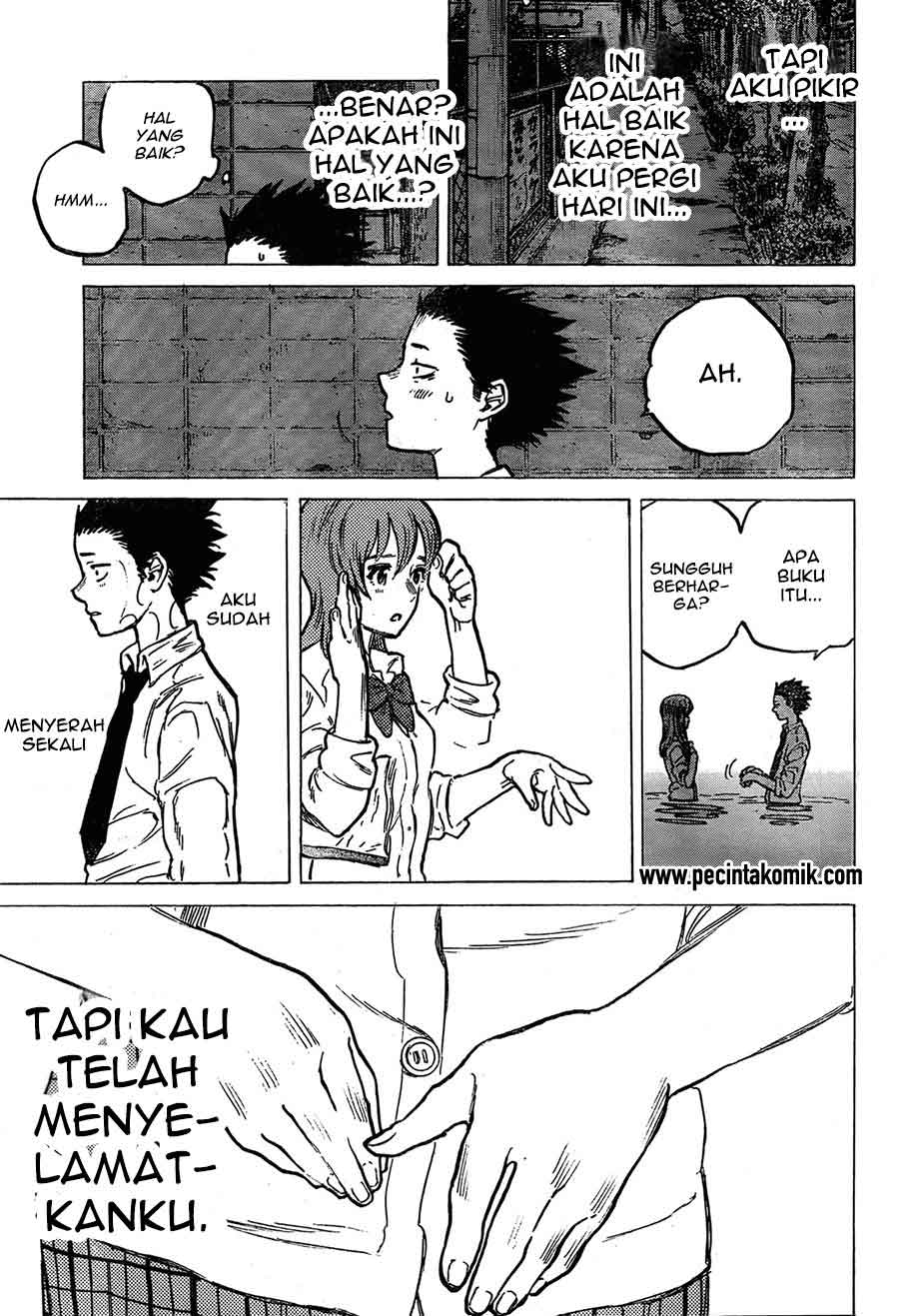 Koe no Katachi Chapter 07-23