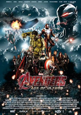 Download Avengers Age of Ultron (2015) Hindi Dubbed ScamRip 700mb