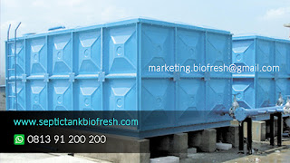panel tank fiberglass