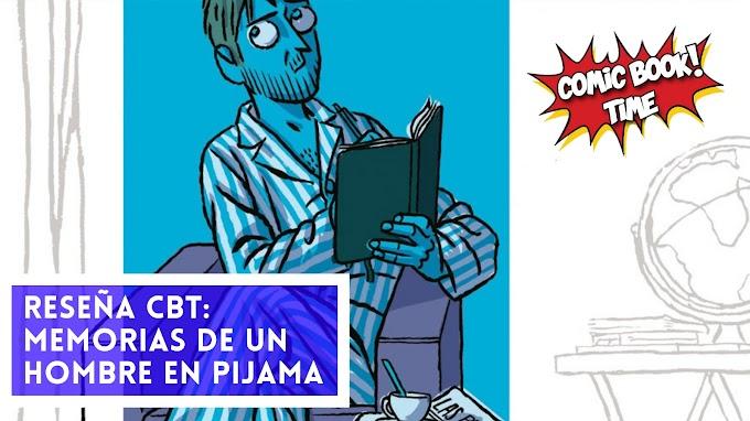 """Cómic reseña: """"Memorias de un hombre en pijama"""" de Paco Roca"""