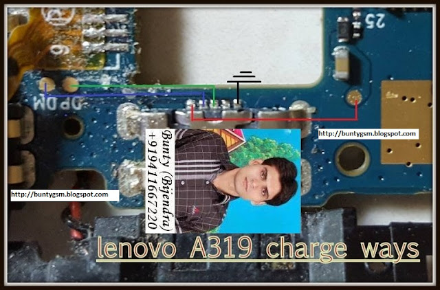 Lenovo A319 Charging Ways Problem Jumper Solution - IMET Mobile