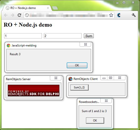André's Dev Blog: Remobjects via Websockets and in Node js