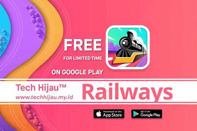 Keren dan Minimalis, Game Railways Gratis untuk Android di Google Play Store