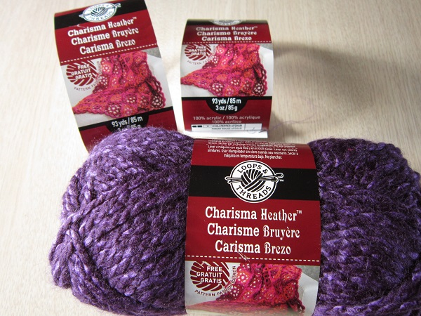 Loops & Threads Charisma, yarn, Michaels