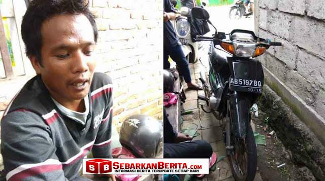 VIRAL - Bapak Ini Mengaku Dipukuli Polisi Hingga Babak Belur , Motor Hancur.