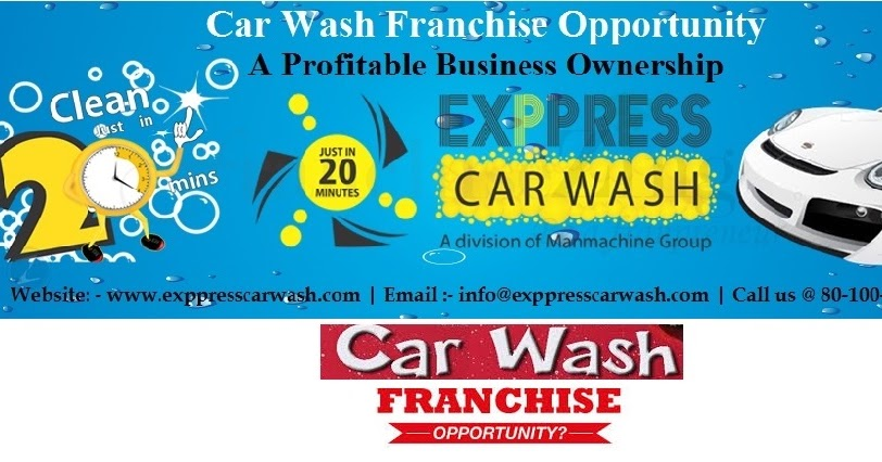 Car Wash Franchise Cost India