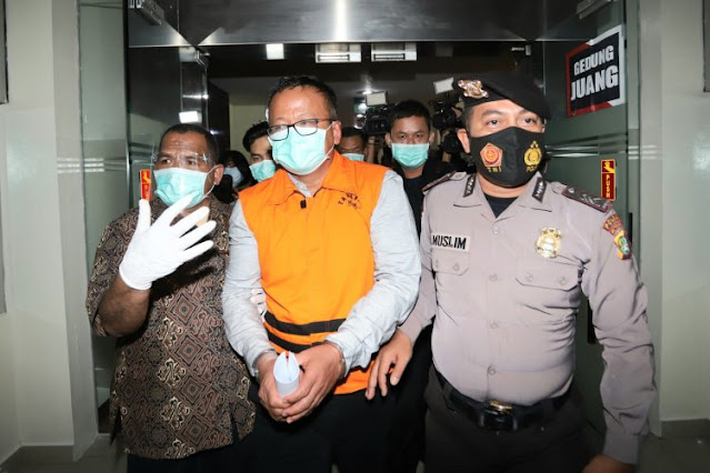Edhy Prabowo: Saya Telah Mengkhianati Kepercayaan Presiden
