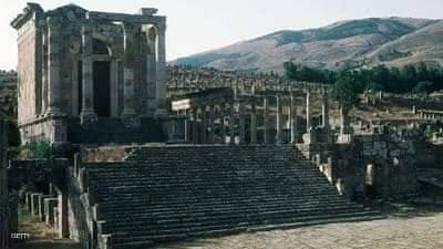 الجزائر 15200 موقعا أثريا وقد تم إدراج تلك المواقع في خريطة للمواقع الأثرية