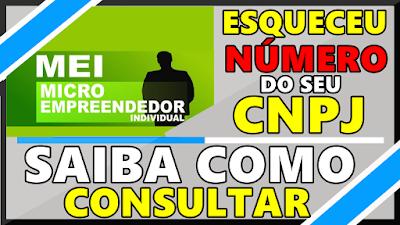 Como Descobrir o Número do CNPJ (MEI)