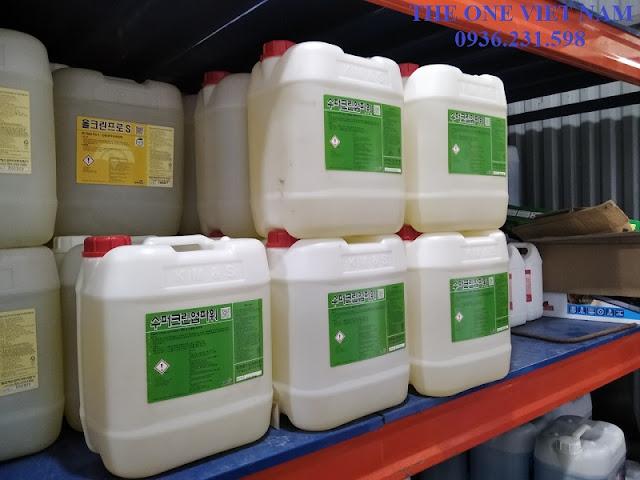 cách sử dụng hóa chất trong giặt là công nghiệp