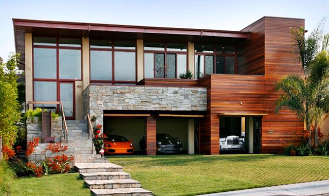8 Model Garasi Rumah Minimalis Paling Keren Tahun 2015